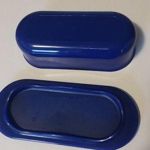 Tupperware Kitchen - Blue tupperware butter dish 2 for $10 item